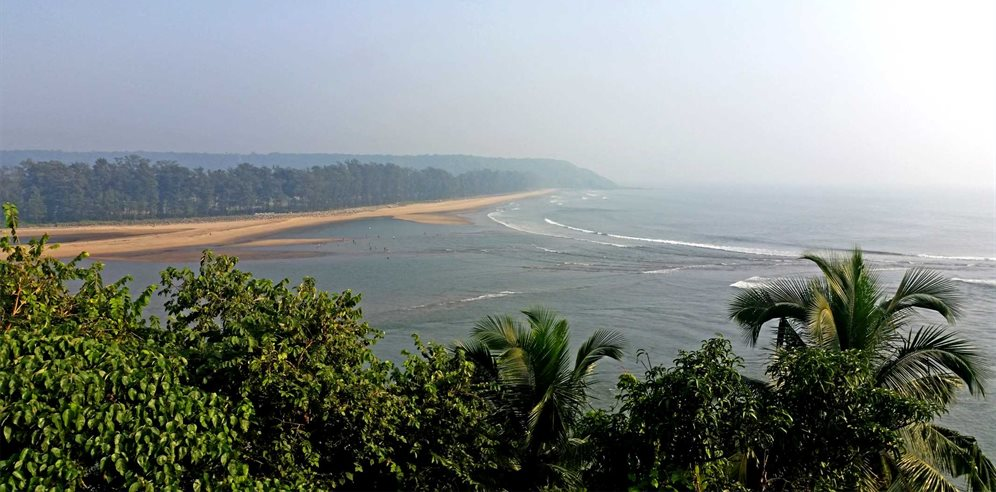 Views from Fort Tiracol Heritage Hotel, Tiracol, North Goa