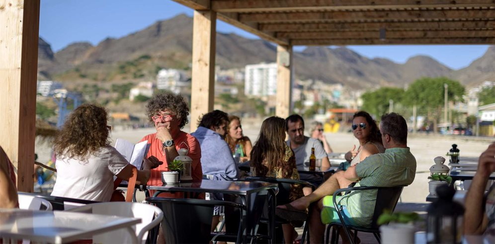 Kalimba beach bar, Mindelo, Sao Vicente