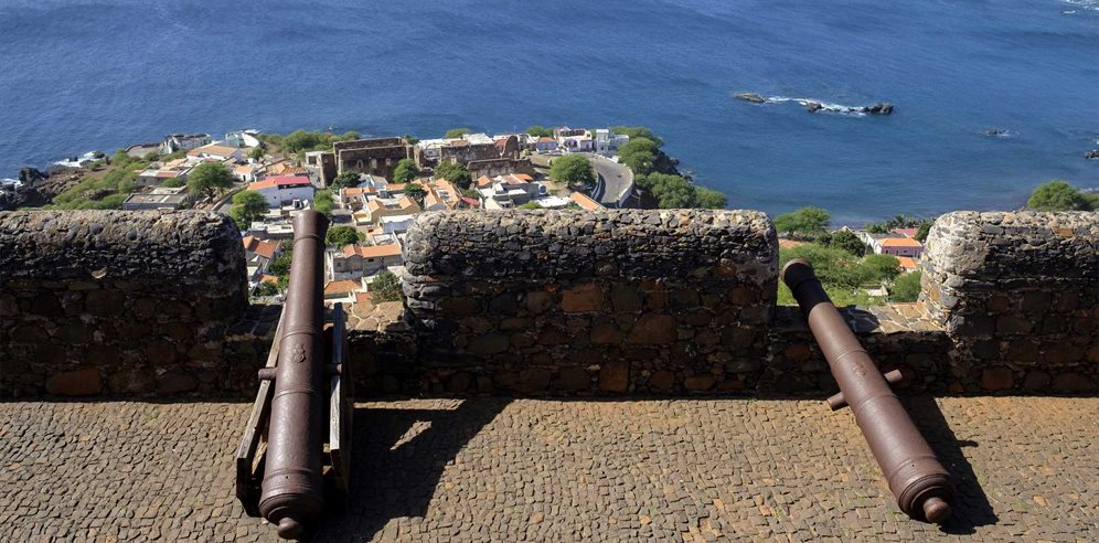Cannons on Santiago, Cape Verde