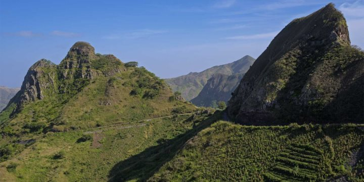 Santiago mountains, Cape Verde