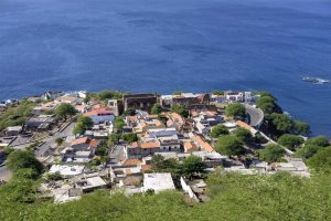 View of Cidade Velha from the fort