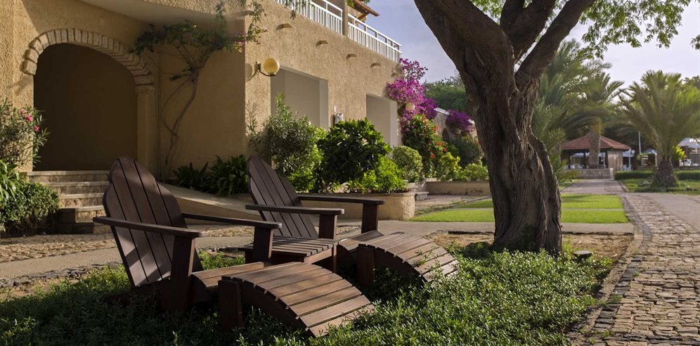 Little hideaways to indulge in a book or simply people watch at Hotel Morabeza, Santa Maria, Sal