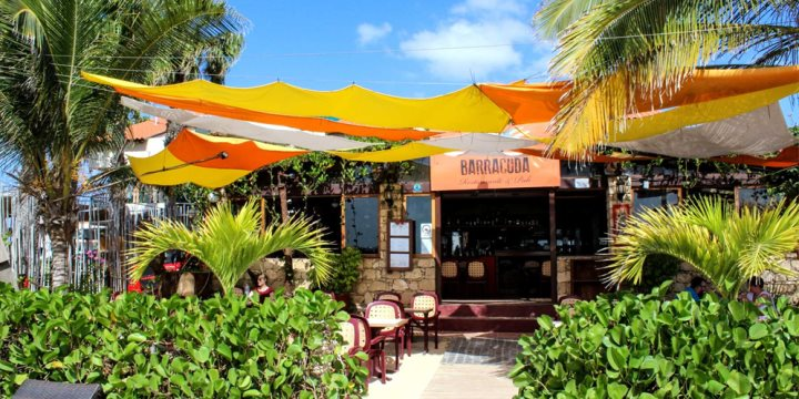 Restaurant Barracuda in Santa Maria on the island of Sal, Cape Verde