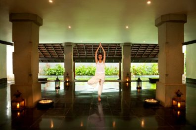 Yoga at Taj Exotica Resort & Spa, Benaulim, South Goa