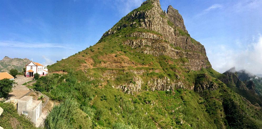 Sao Nicolau with Ribeira Brava's valley