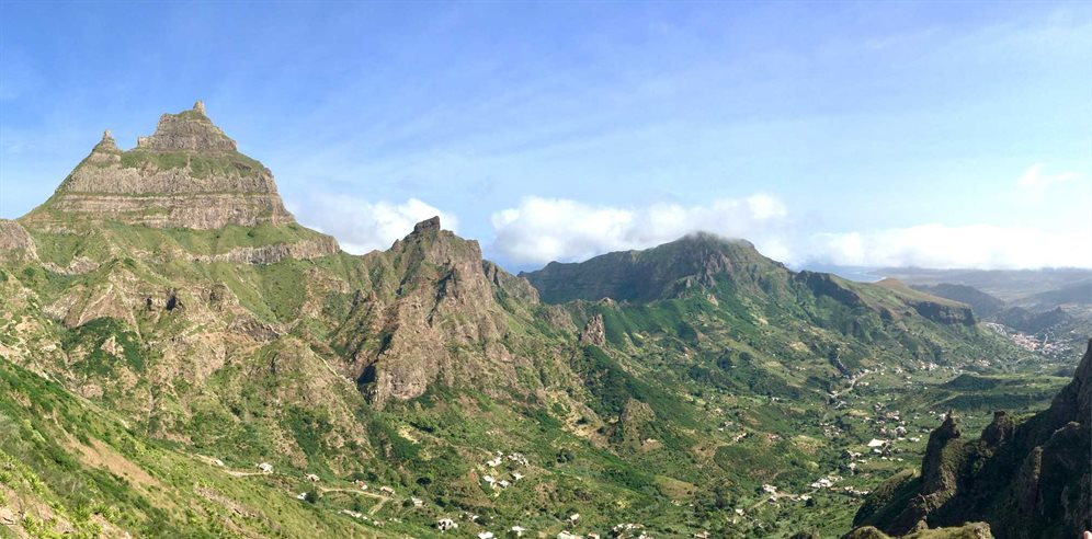 Sao Nicolau Mountains