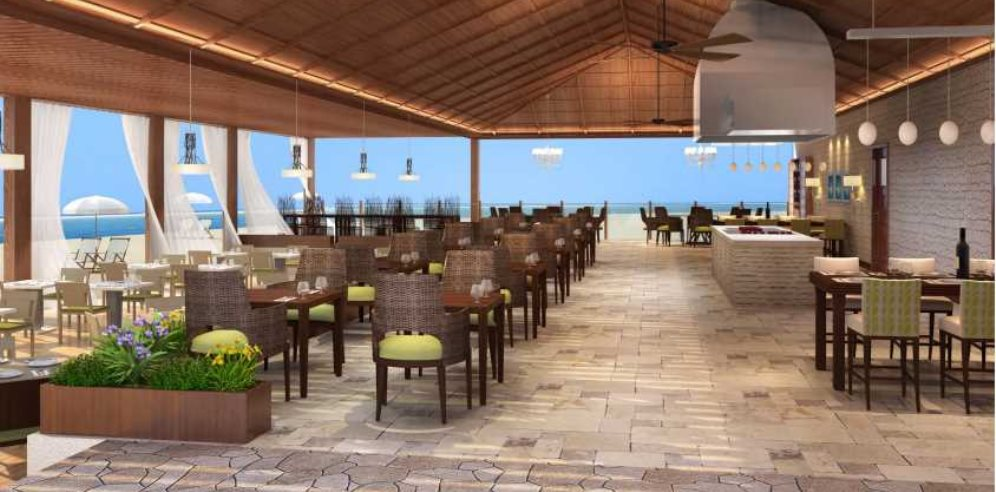Artist impression - The Bounty Beach Restaurant