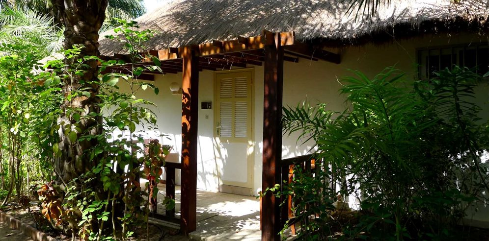 Traditional bungalow at La Paillote Village Hotel