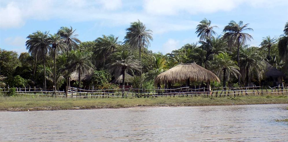 Esperanto Lodge - View from the Lagoon