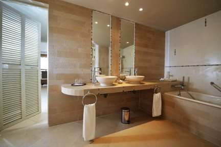 Executive Suite Bathroom at Hotel Morabeza, Santa Maria, Sal