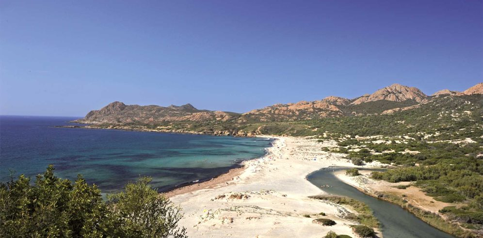 The rustic beauty of Ostriconi Beach, Corsica