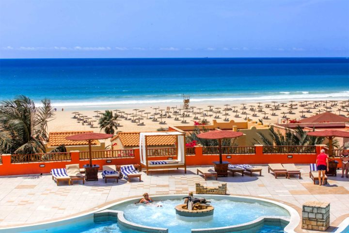 Resorts by the beach in Cape Verde