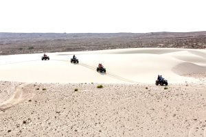 Quad biking excursion