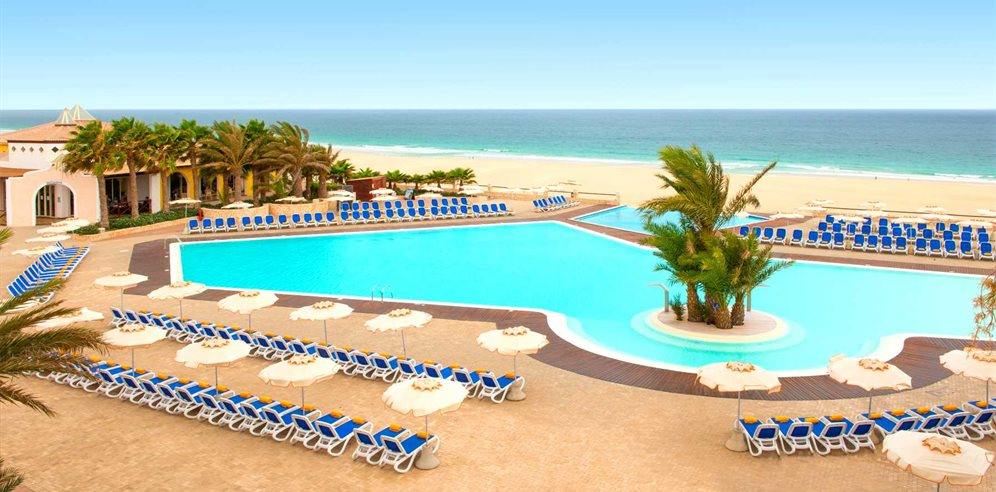 Iberostar Club Boa Vista location on Praia de Chaves beach