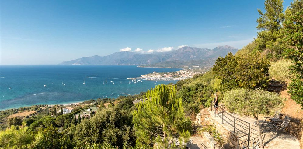 Views across St Florent