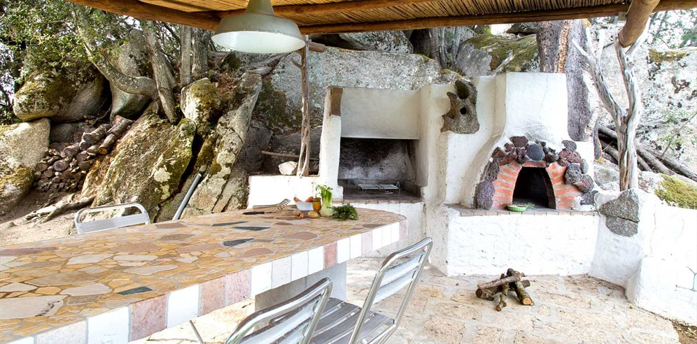 Terrace, Pizza Oven and Barbecue - Villa Oltremare