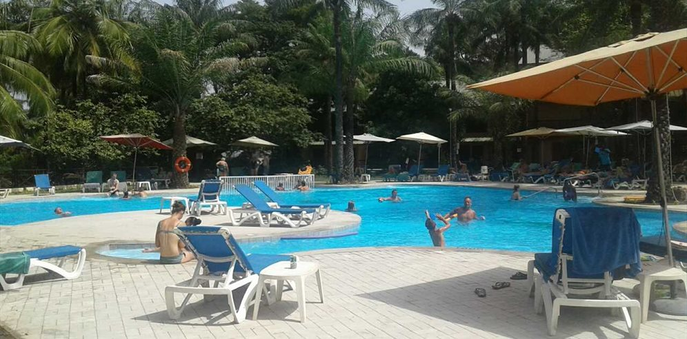 Transformed Oasis Pool at Senegambia Hotel