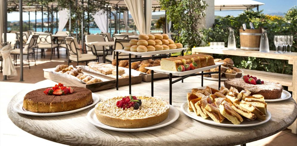 Breakfast on the Terrace - Gabbiano Azzurro Hotel & Suites