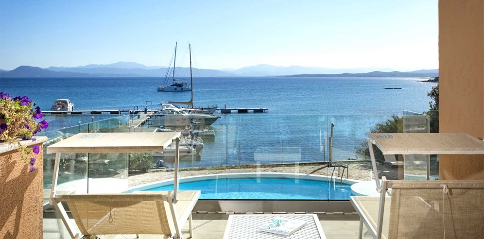 Pool and View - Gabbiano Azzurro Hotel & Suites