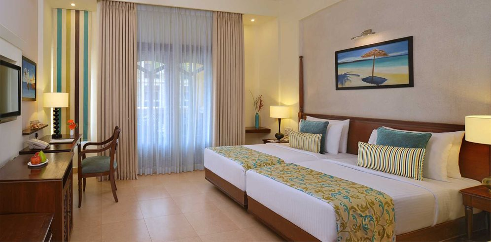 Deluxe Pool Facing Room at Country Inn & Suites, Candolim, North Goa
