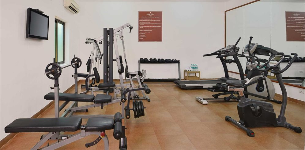 Gym at Country Inn & Suites, Candolim, North Goa