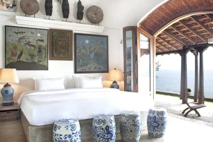 Minestrel Rainha Room at Ahilya by the Sea, Nerul, North Goa