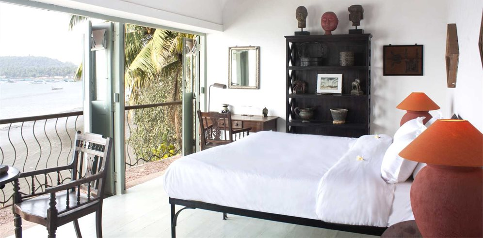Sanyasi room at Ahilya by the Sea, Nerul, North Goa