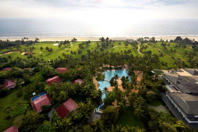 Aerial View of Taj Exotica Resort & Spa, Benualim, South Goa