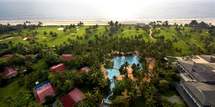 Aerial View of Taj Exotica Resort & Spa, Benaulim, South Goa