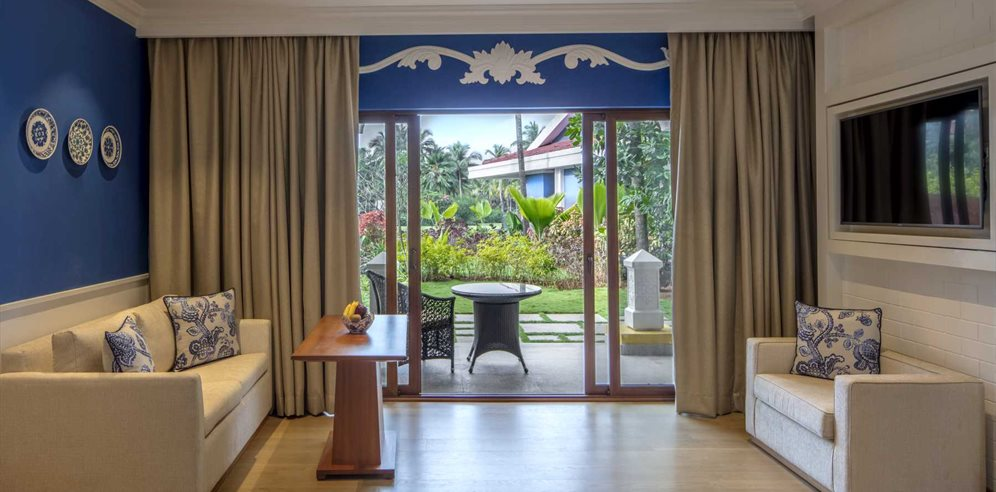 Premium Garden Villa at Taj Exotica Resort & Spa, Benualim, South Goa