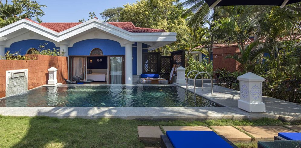 Pool Villa at Taj Exotica Resort & Spa, Benualim, South Goa