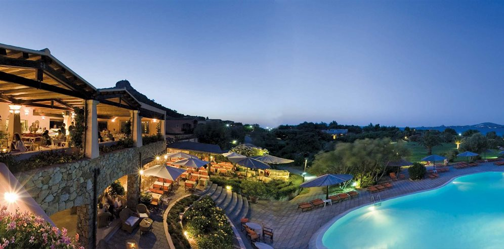 Pool at Night - Resort Cala di Falco