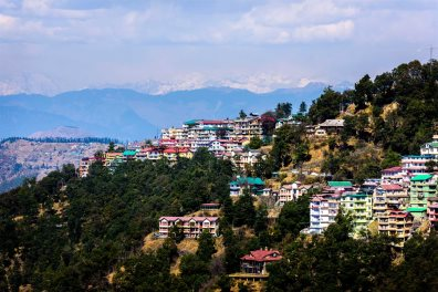 Shimla, Aerial, India, Buildings - OctoberSonata | Shutterstock