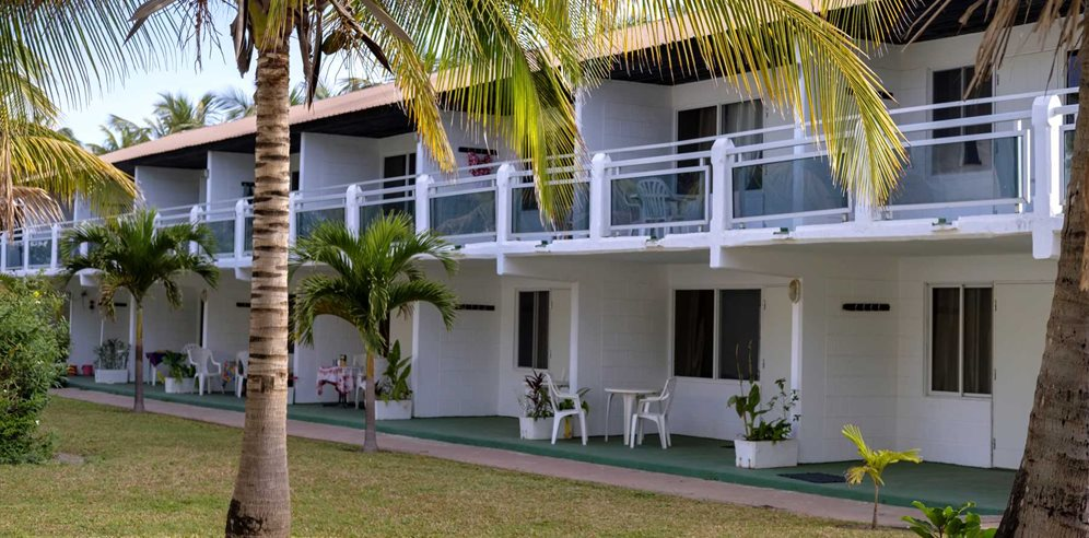 Beach Rooms and Garden at Bungalow Beach Aparthotel, Kotu, The Gambia