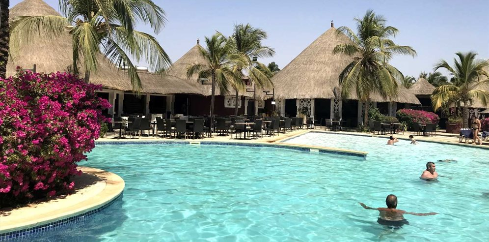 Hotel Royam in Saly, Senegal