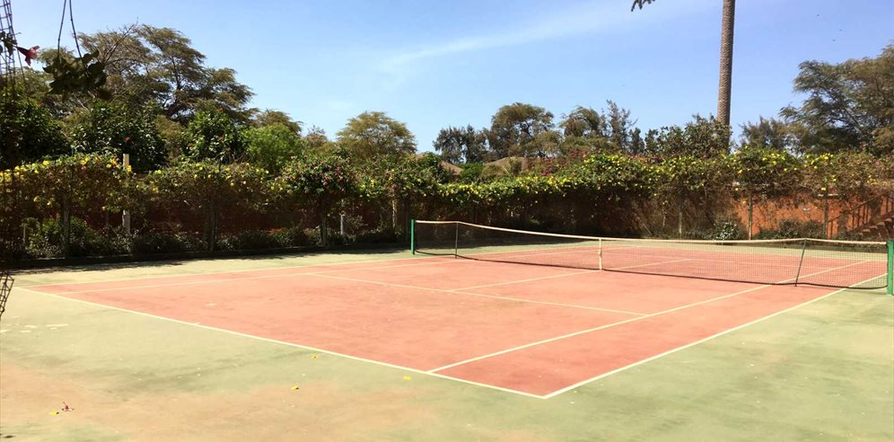 Plenty of sports at Royal Horizon Baobab Hotel in La Somone, Senegal