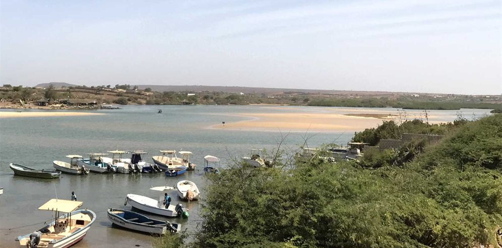 Lagoon at Royal Horizon Baobab Hotel in La Somone, Senegal