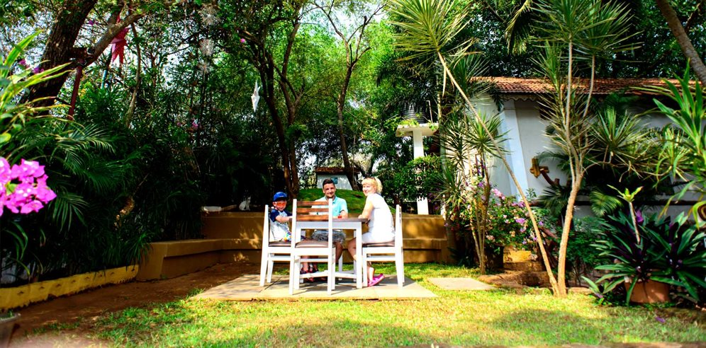 Alidia Beach Resort Garden