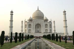 The Taj Mahal in Agra, North India