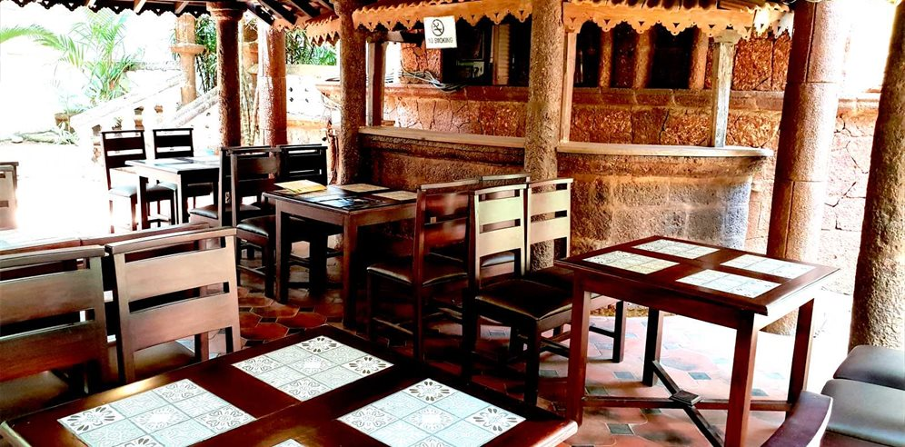 Restaurant at Alidia Beach Resort, Baga, North Goa
