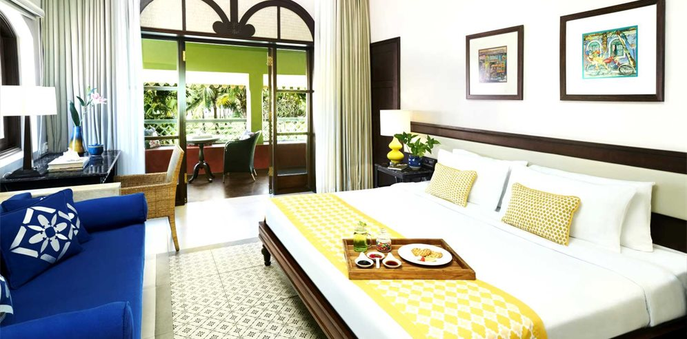 Superior Garden View Room with Sit Out, Taj Holiday Village Resort & Spa, Sinquerim, North Goa