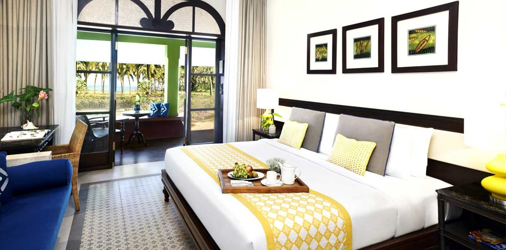 Superior Garden View Room with Balcony, Taj Holiday Village Resort & Spa, Sinquerim, North Goa