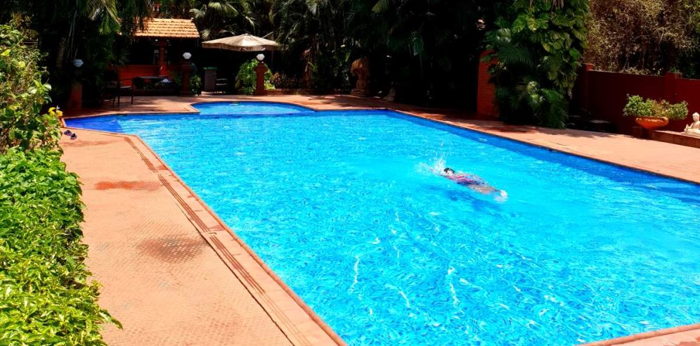 Swimming Pool, Chalston Beach Resort, Calangute, North Goa
