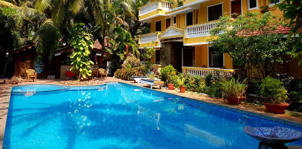 Swimming Pool at Sao Domingo's, Cavelossim, South Goa
