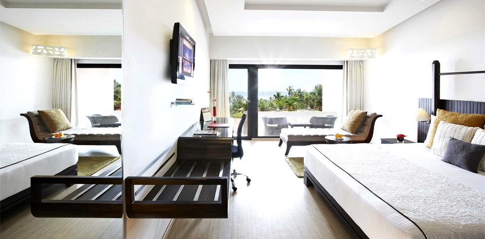Standard Sea Facing View Room, The Gateway, Varkala, Kerala