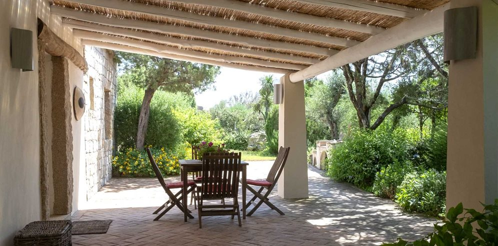 Shaded Terrace - Villa Filippa