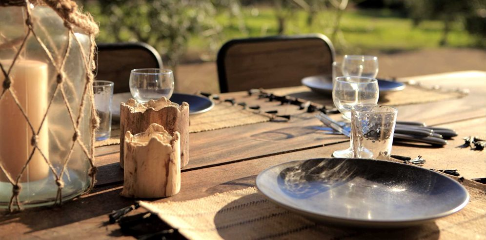 Al Fresco dining on your terrace - Casa Legna - La Balagne