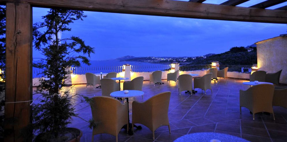 Bar Terrace - Colonna Resort