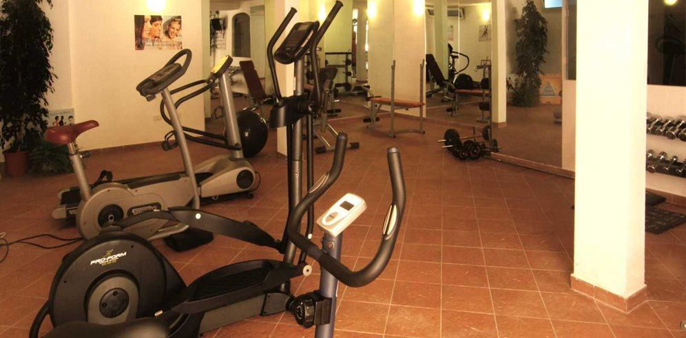 Fitness Area - Colonna Resort
