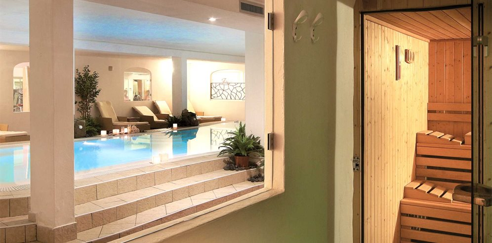 Wellness & SPA Sauna - Colonna Resort